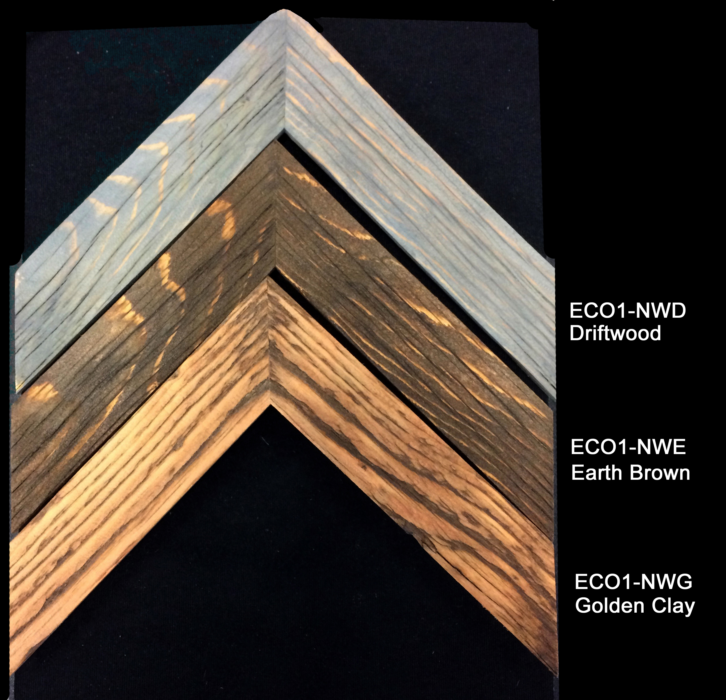 Barnwood stained natural colors