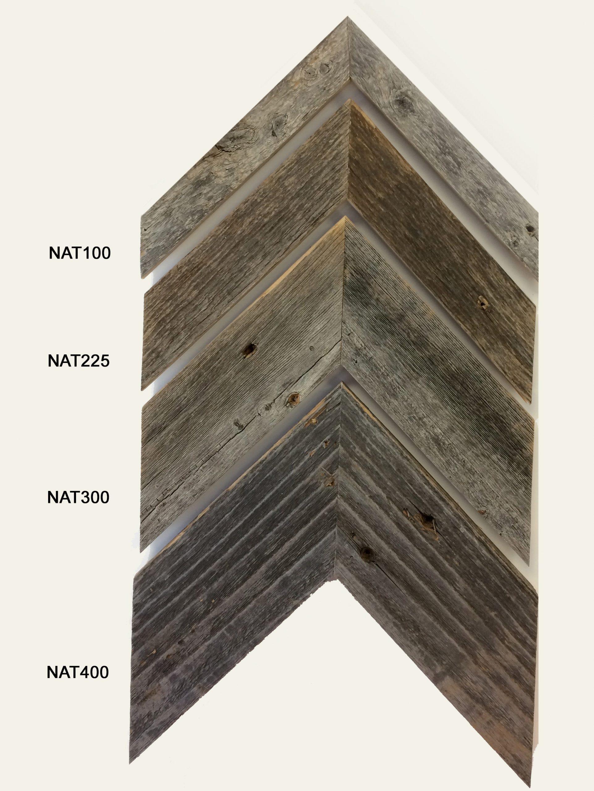 Barnwood moulding in 4 widths